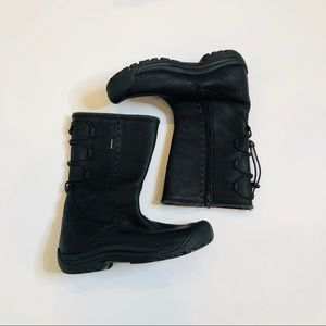 Keen Winthrop Black Boots, Sz 10.5